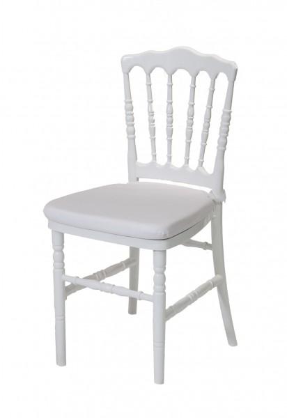 Noleggio sedia modello parigina colore bianco completa di - Dimensioni sedia ...